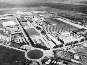 一連の事件があった自動車工場。