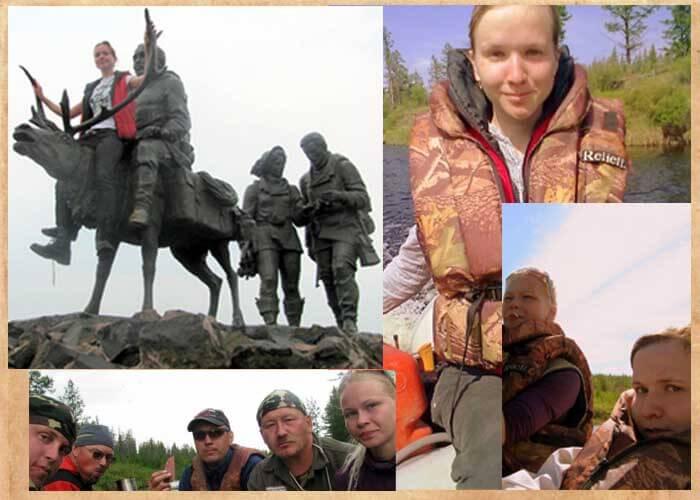 ■諸兄の溜飲も下がるだろうシリーズ。 こんなロシア娘と和気藹々とキャンプできるなら、諸兄らも今すぐシベリア送りにしてもらって、トナカイじゃなく自分に乗って欲しいはずだ。 とはいえ調査隊の男たちはタフボーイな感じではある。 ykt.ru/МЫ!