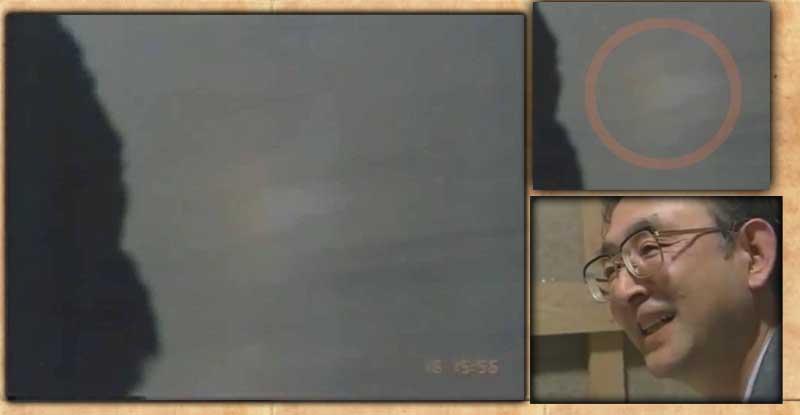 鈴木優二氏の撮影した椋平虹らしき虹。氏は長年勤めた会社を退職後、第二の人生を虹研究に捧げるため東京から和歌山へやってきた。