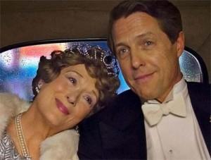 『マダム・フローレンス! 夢見るふたり』 フローレンス・F・ジェンキンスをメリル・ストリープが、彼女のパートナーだったセントクレア・ベイフィールド役をヒュー・グラントが演じる。