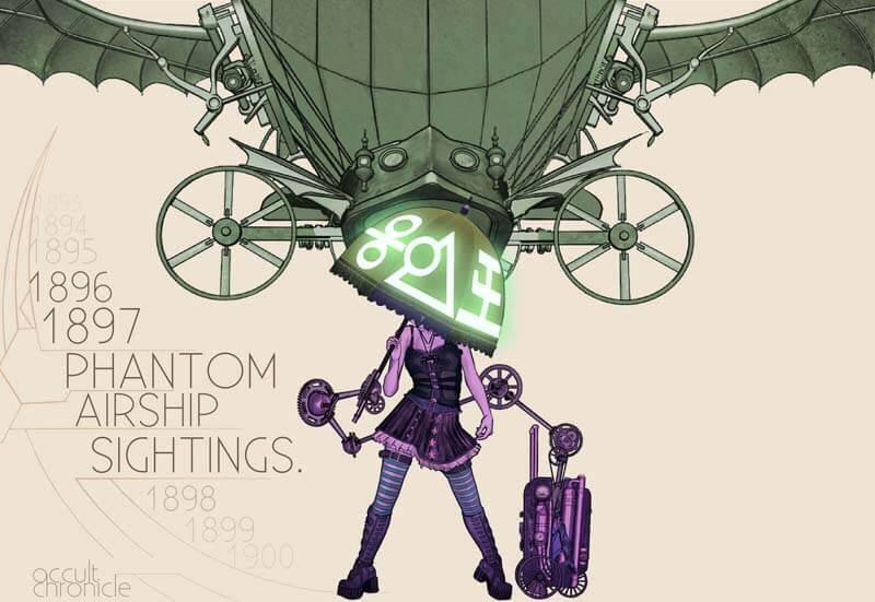 幽霊飛行船騒動――謎の搭乗員たち